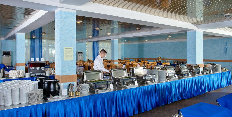 Питание в санатории Полтава Крым